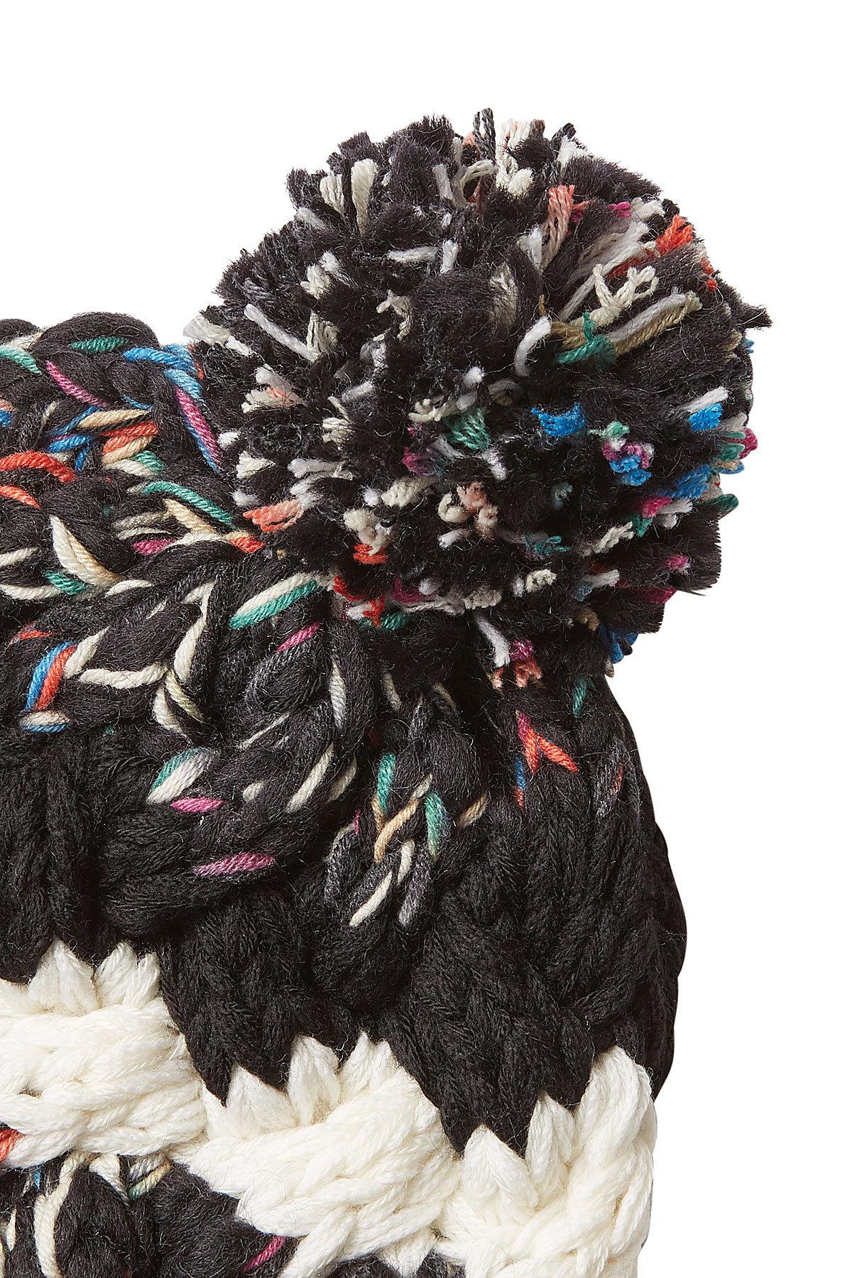 06f36453658 Missoni Knit Beanie With Cashmere And Wool - Lyst