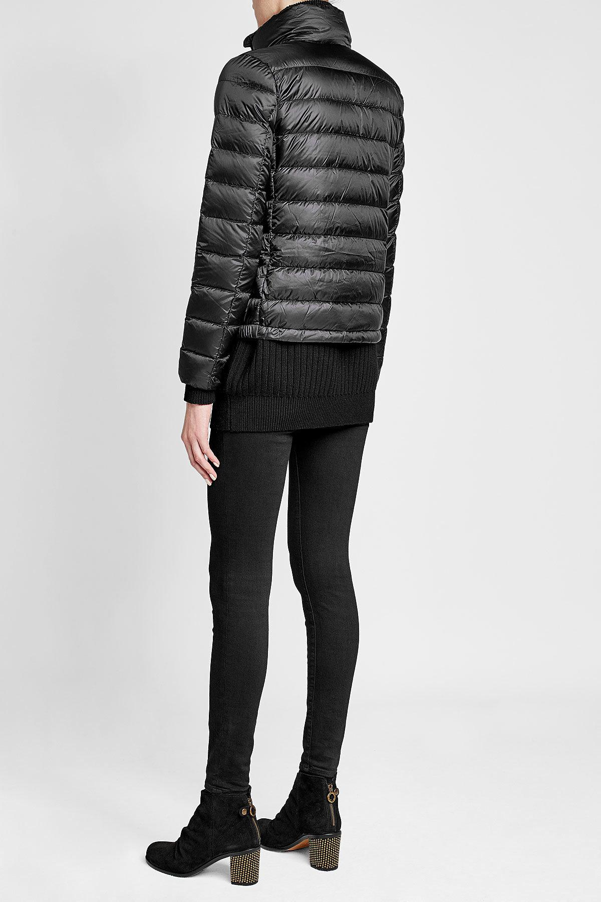 Polo Ralph Lauren Quilted Down Jacket With Hood In Black