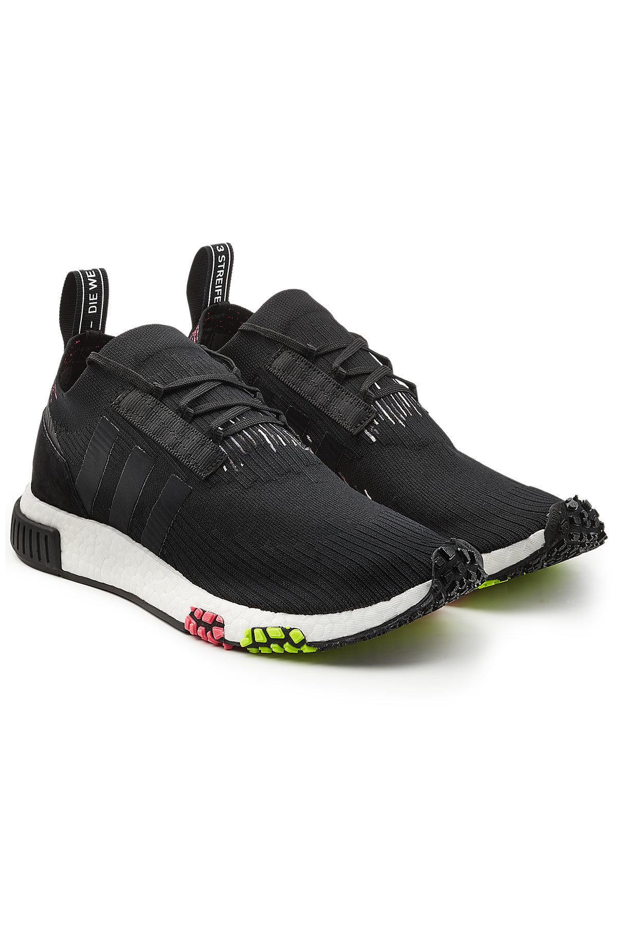 adidas Originals Nmd Racer Primeknit Sneakers in Black for