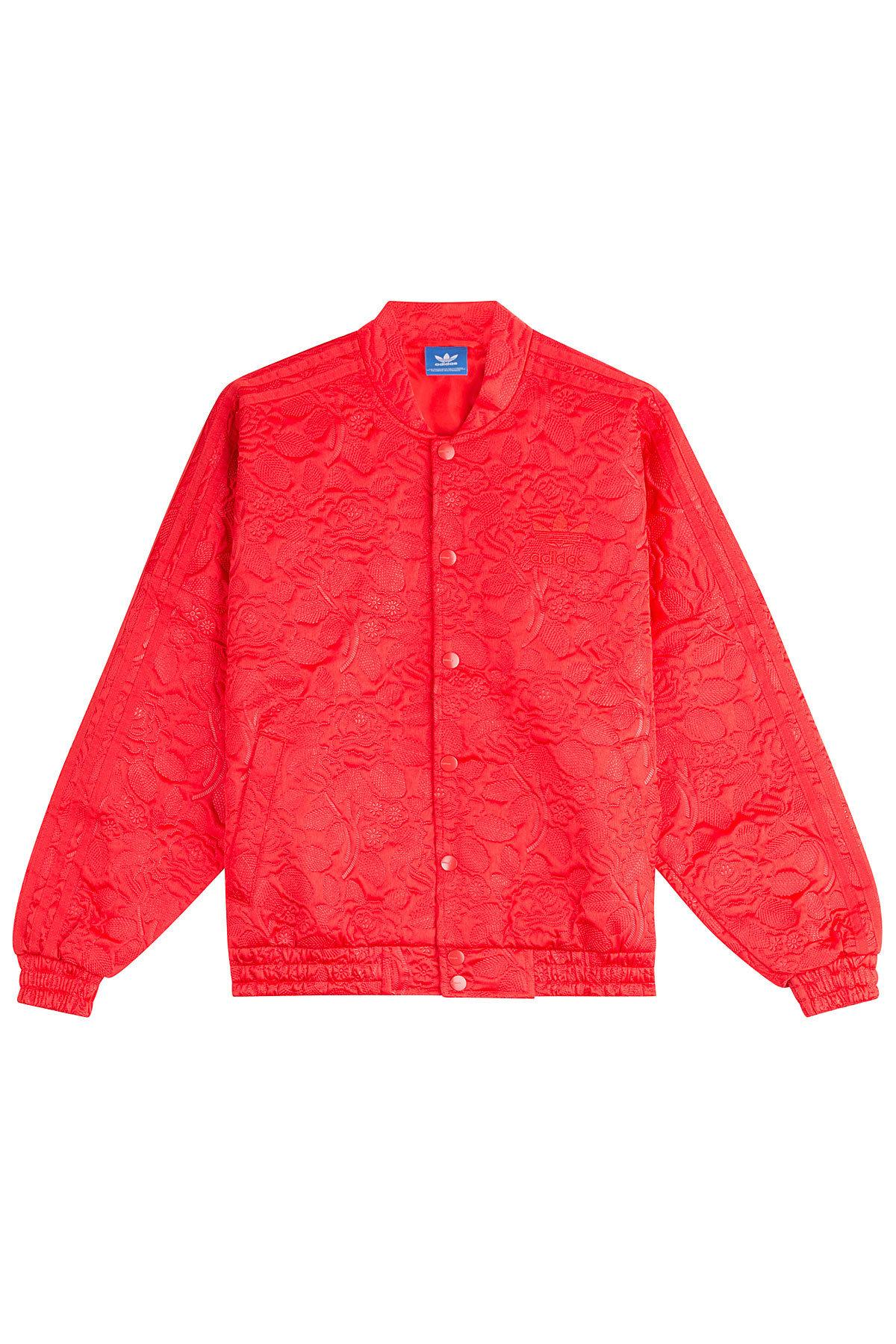 adidas originals jacket red wwwimgkidcom the image