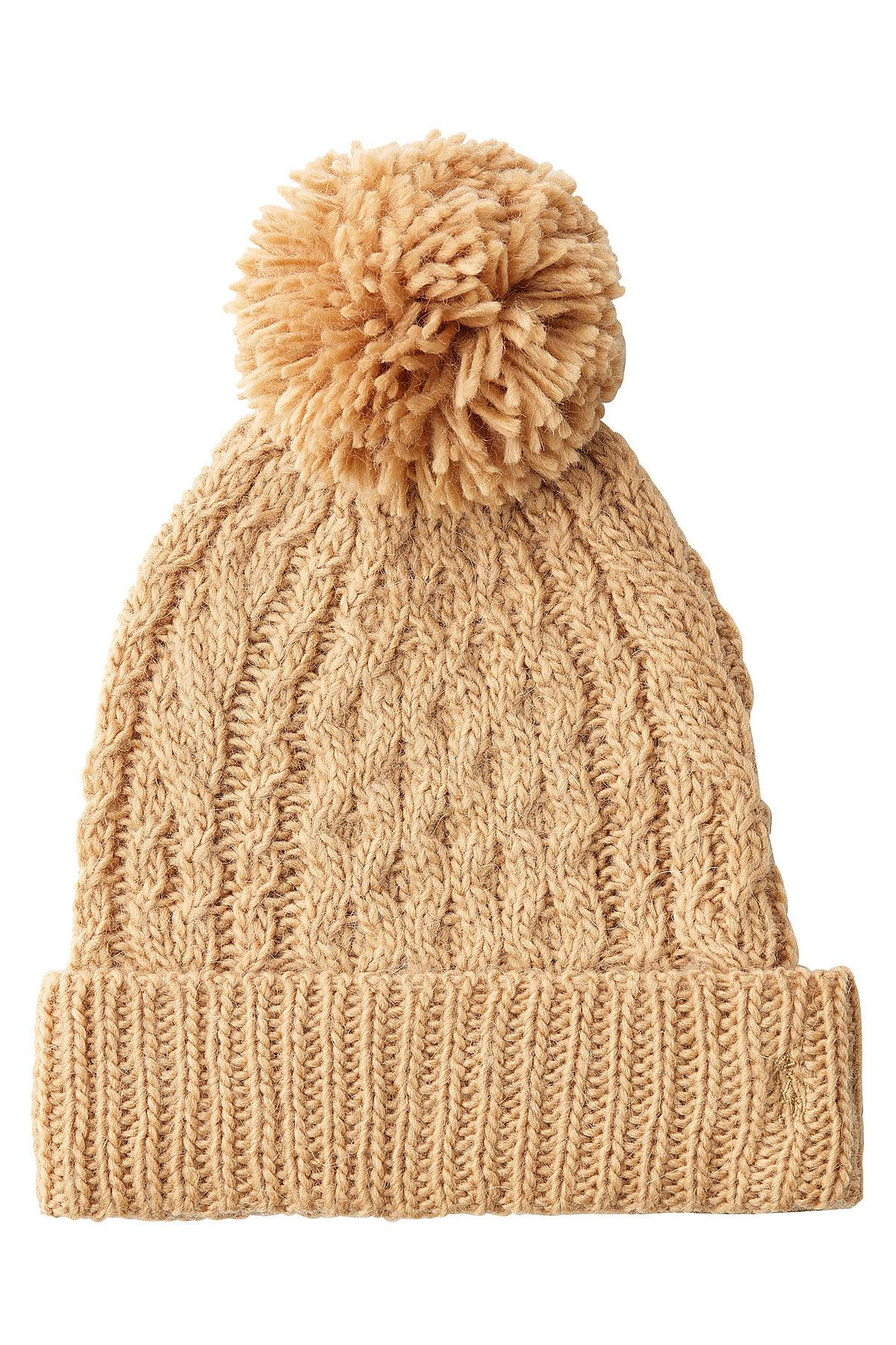e2a303a4 Polo Ralph Lauren Natural Hat With Wool And Alpaca