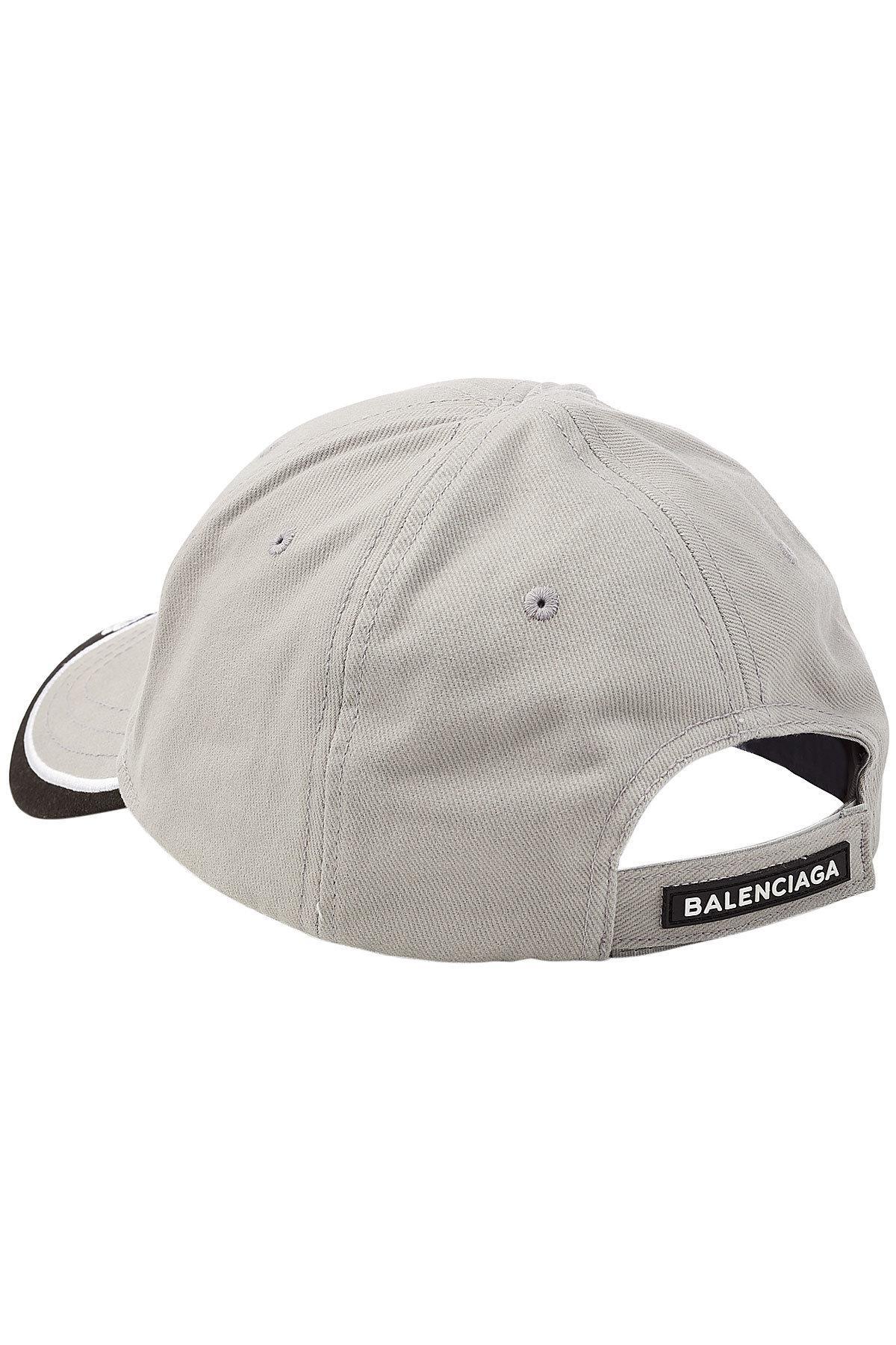 Lyst - Balenciaga Pe Logo Baseball Cap in Gray for Men d8b58bc3384