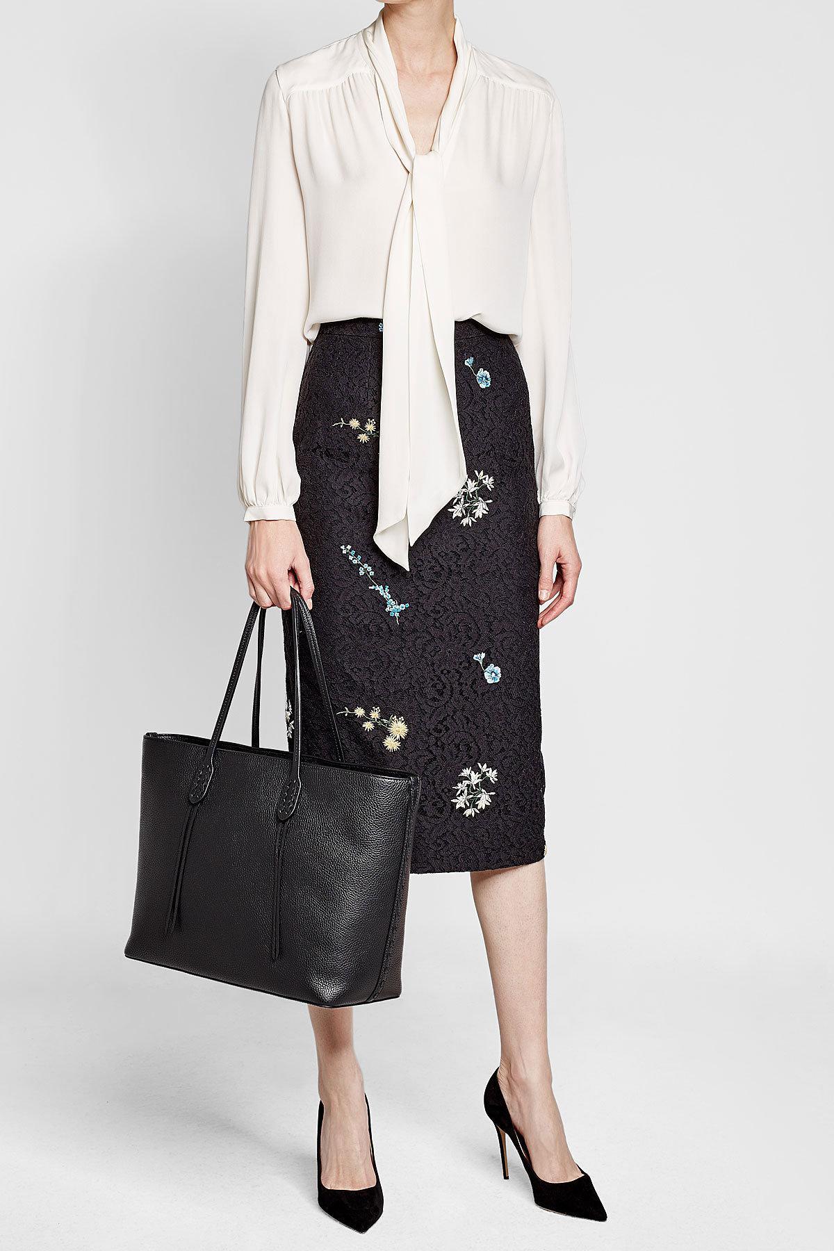 c3a699508230ea Lyst - Sac Cabas En Cuir Polo Ralph Lauren en coloris Noir