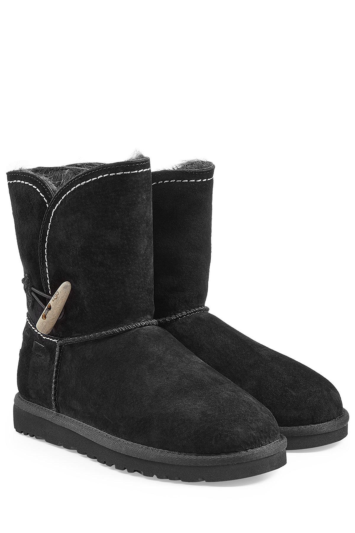 4ab842ce3b28e8 Lyst - Ugg Meadow Sheepskin Boots in Black