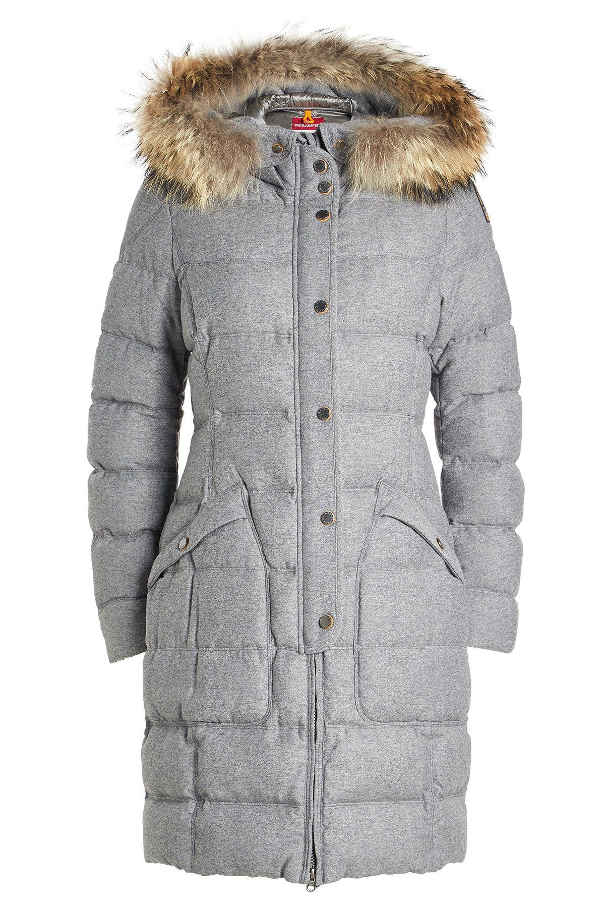 parajumpers down filled hooded jacket