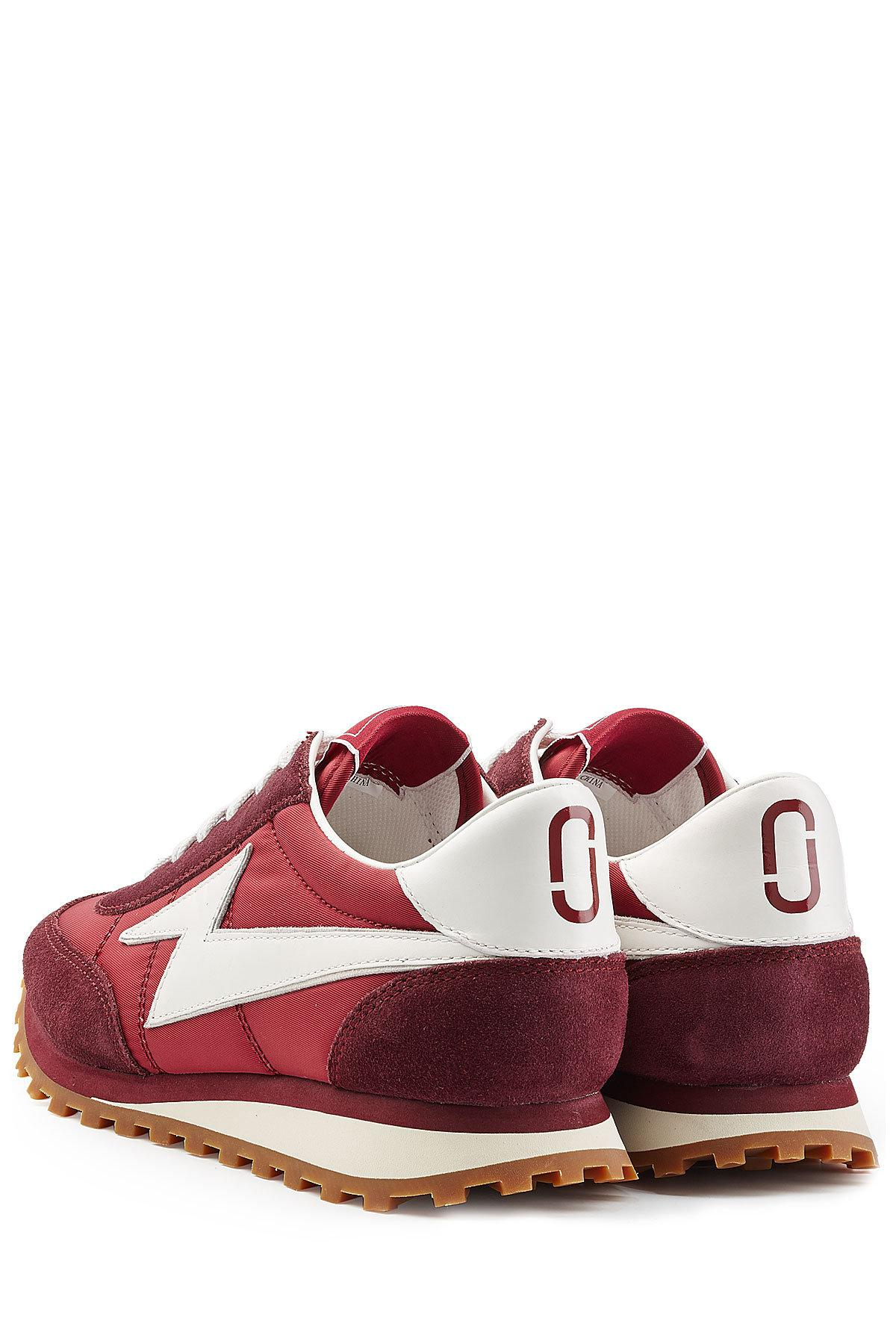 Marc Jacobs Suede and Fabric Sneakers Buy Cheap Free Shipping Buy Cheap For Nice t9qEFCr