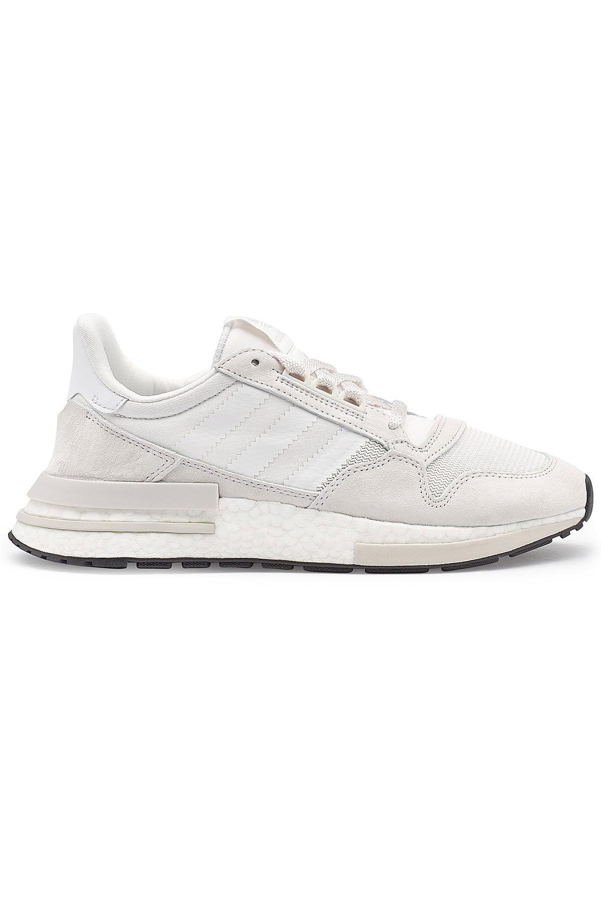 15a37c02a Lyst - adidas Originals Zx 500 Rm Sneakers With Suede in Natural for Men