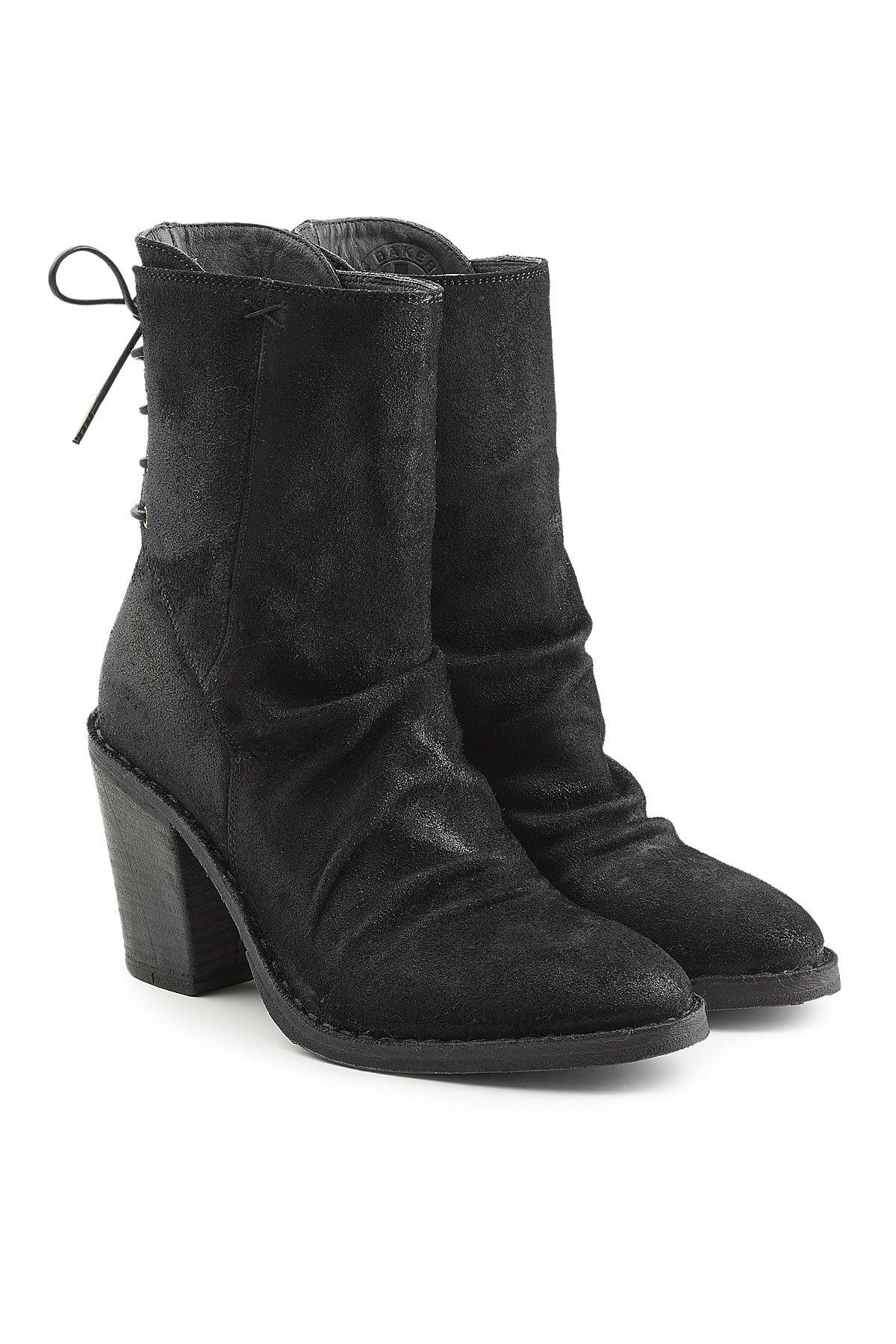 FIORENTINI + BAKER Sassy Suede Ankle Boots with Lace-Up Back Free Shipping Pre Order For Sale Online dfGqTx