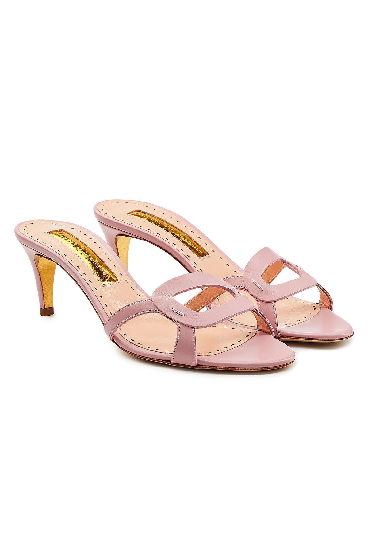 Rupert Sanderson Maeve leather sandals 4CKZLFaXq