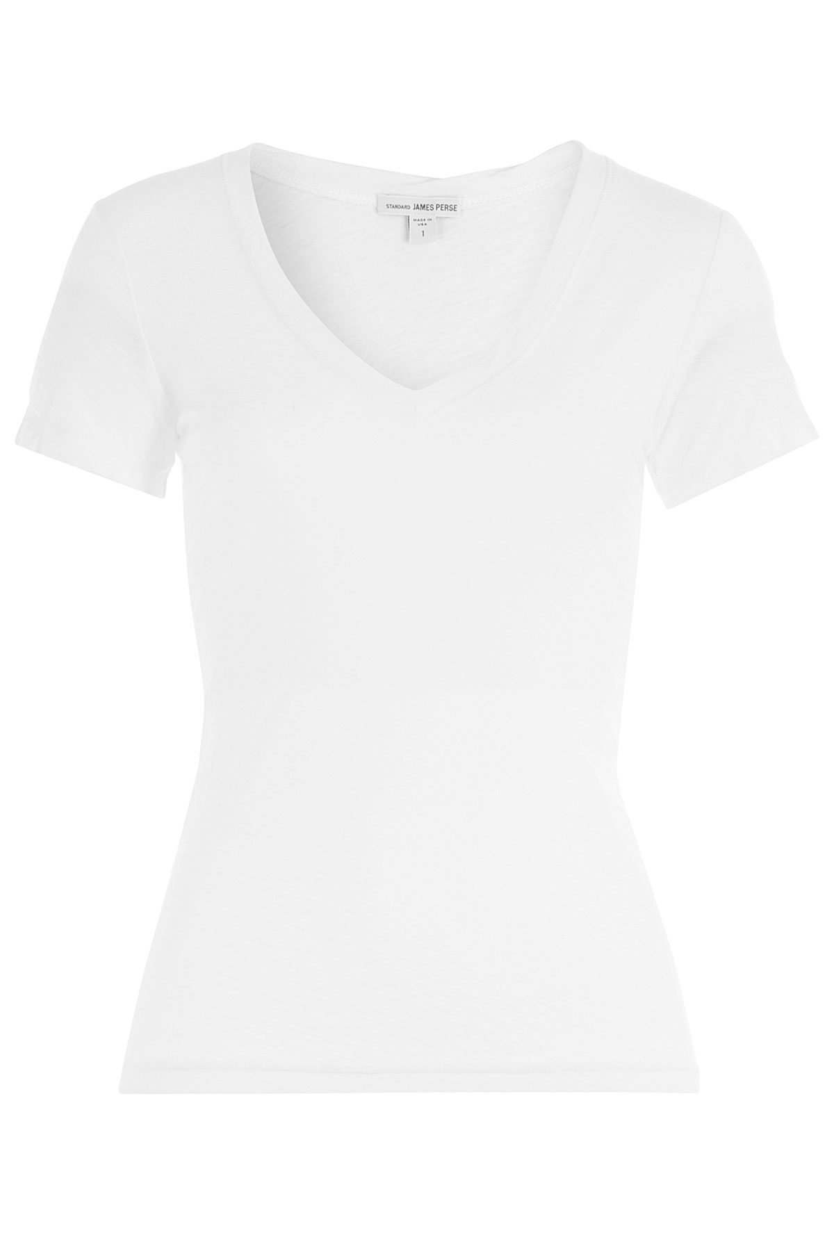 James perse cotton t shirt white in white lyst for James perse t shirts sale