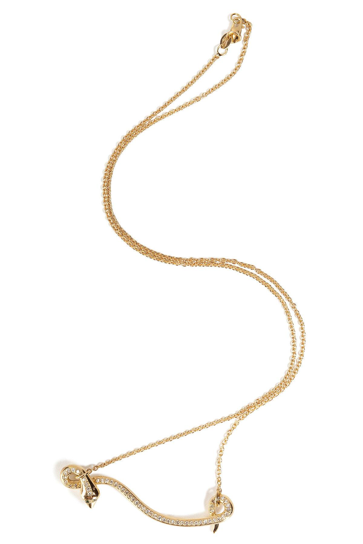 Diamond & yellow-gold necklace Ileana Makri 8dbxvWLZ4