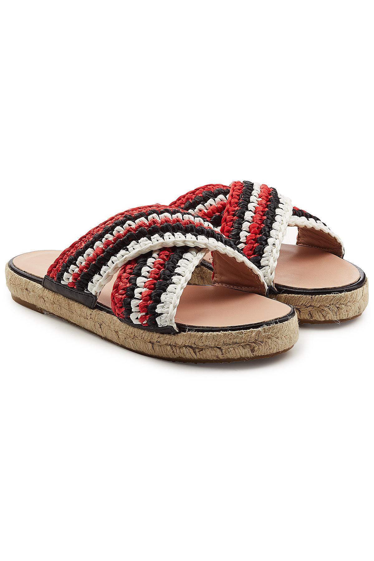 embossed strappy sandals Red Valentino ZJo1a1vZ