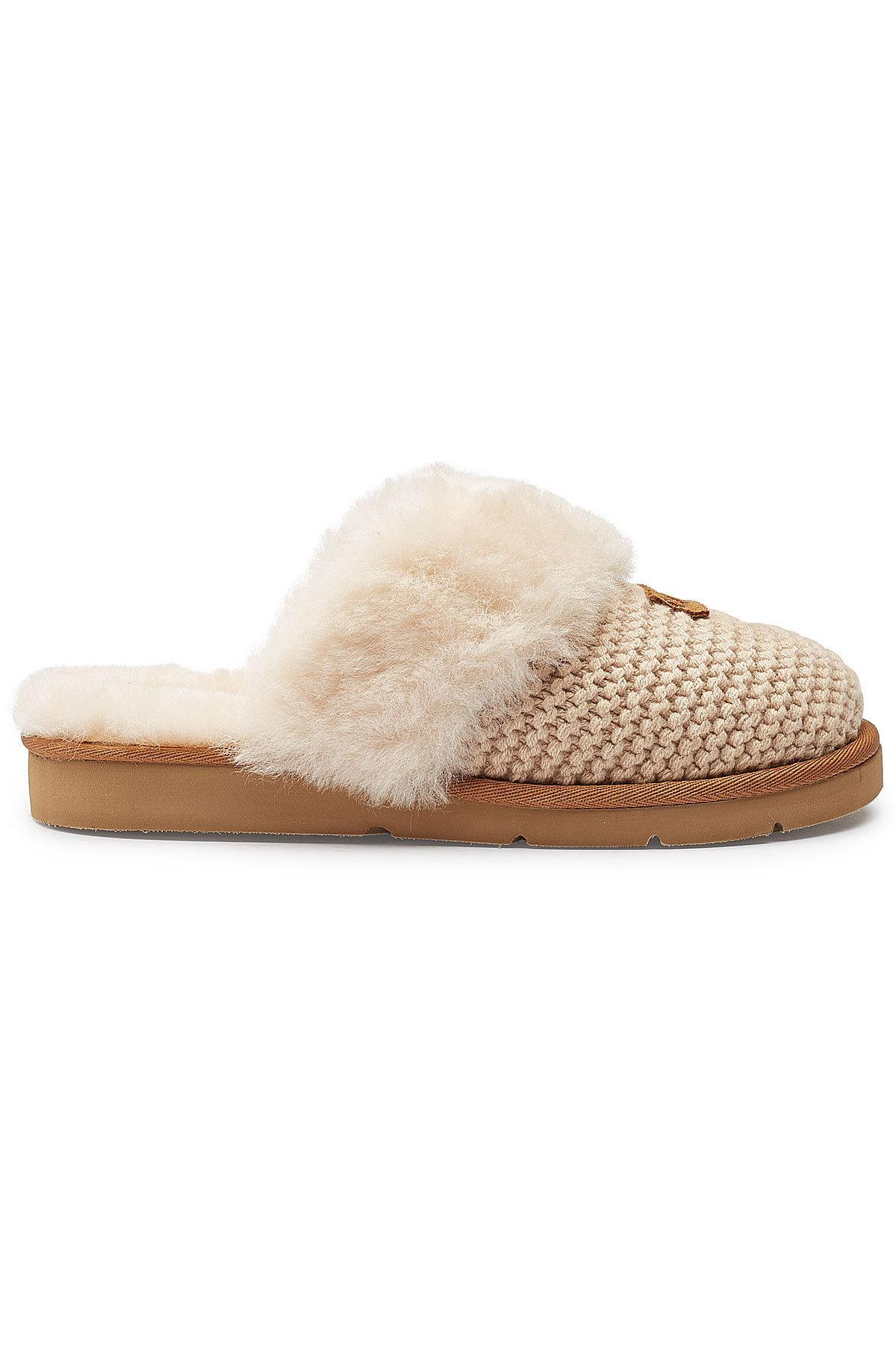 a28a80ab62b Ugg Cozy Knit Cable Slippers - Image Skirt and Slipper Imagepv.co