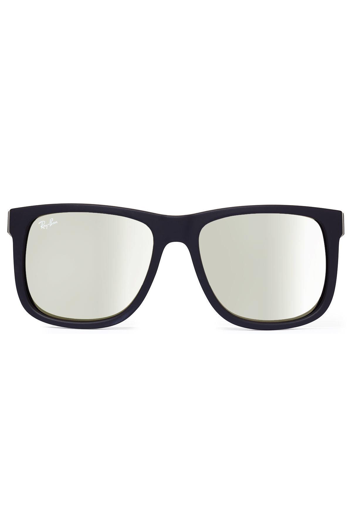 37760ede191 Ray Ban Rb4165 Justin Sunglasses Shiny Black