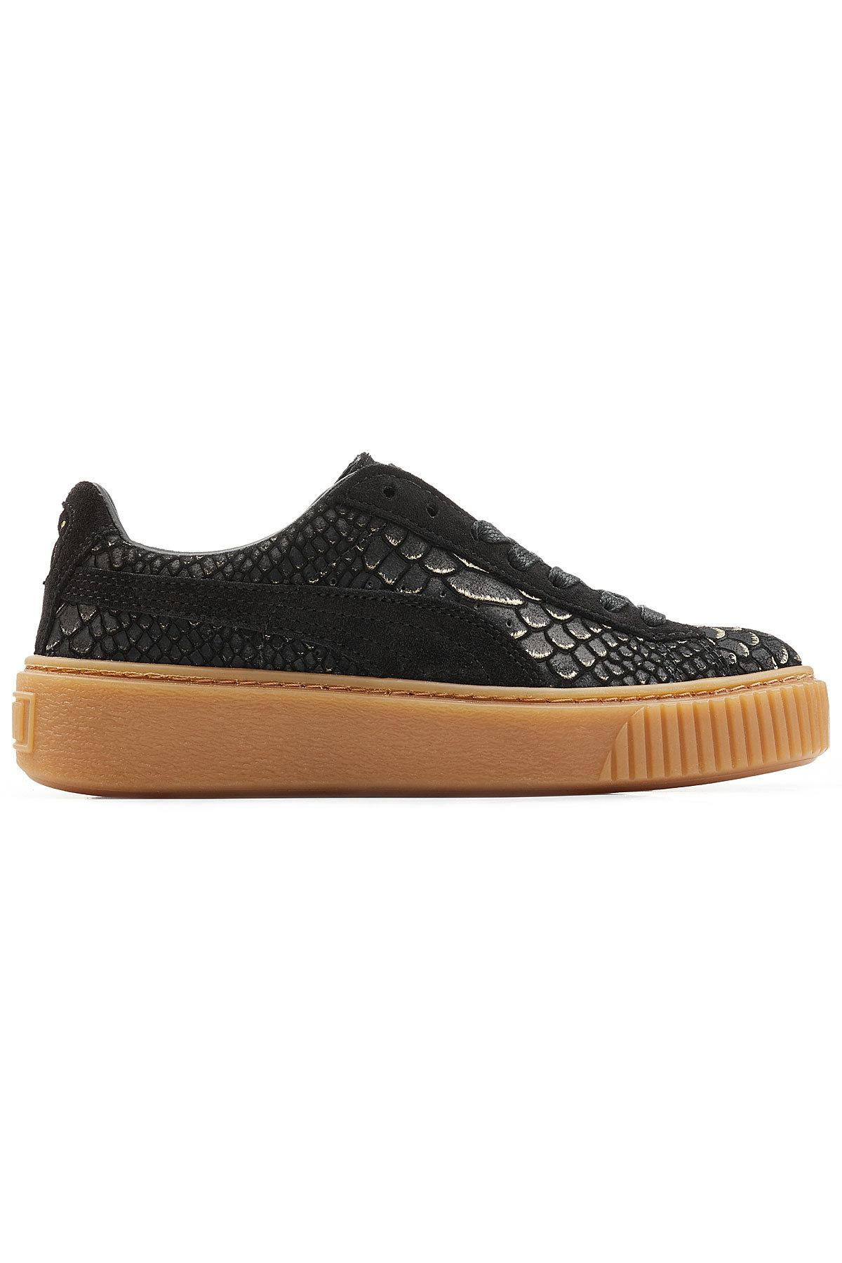 Sale Collections Puma Textured Leather Creeper Sneakers Sale For Sale Discounts Sale Online Wholesale Quality kApCA7f64