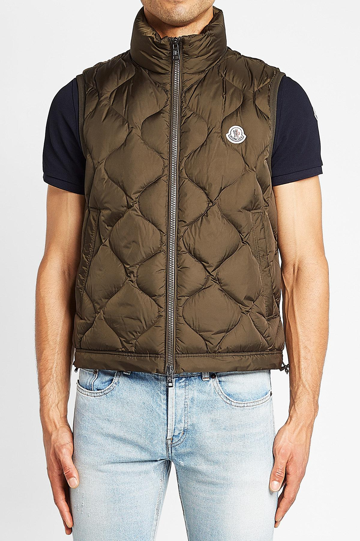 68774282c Moncler Multicolor Allemont Down Vest for men