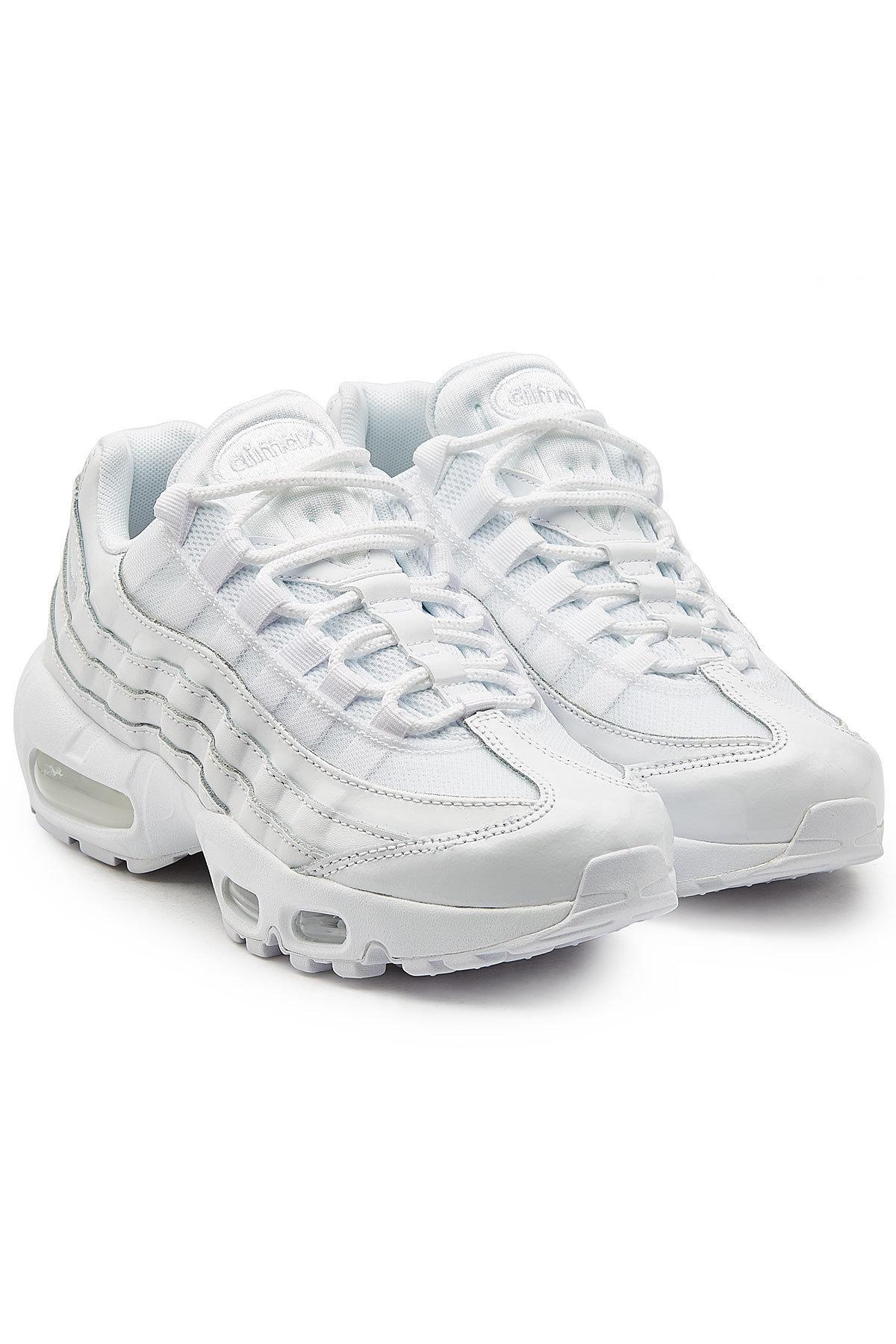 White Mesh Sneakers Women's With Max 95 Air 0Pk8wnO