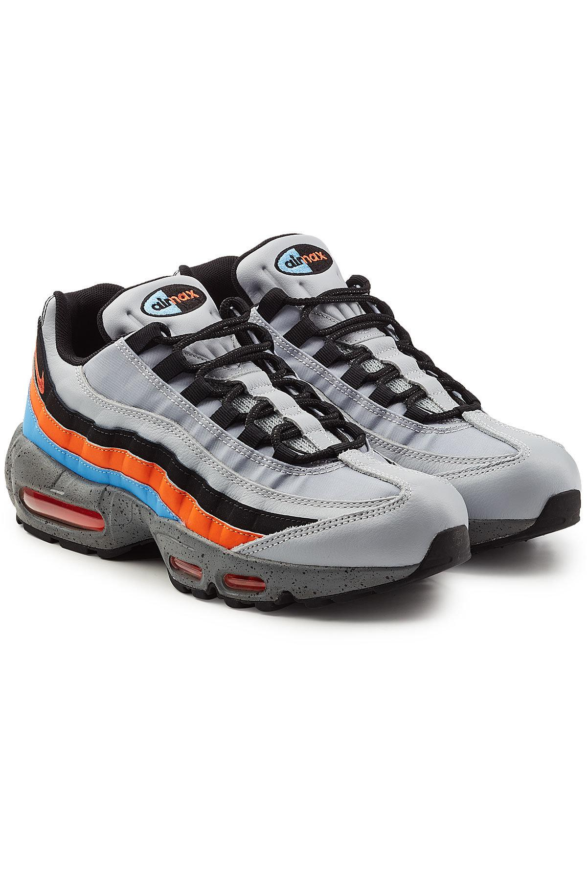 free shipping 1435d e377b Lyst - Nike Air Max 95 Premium Sneakers With Leather for Men