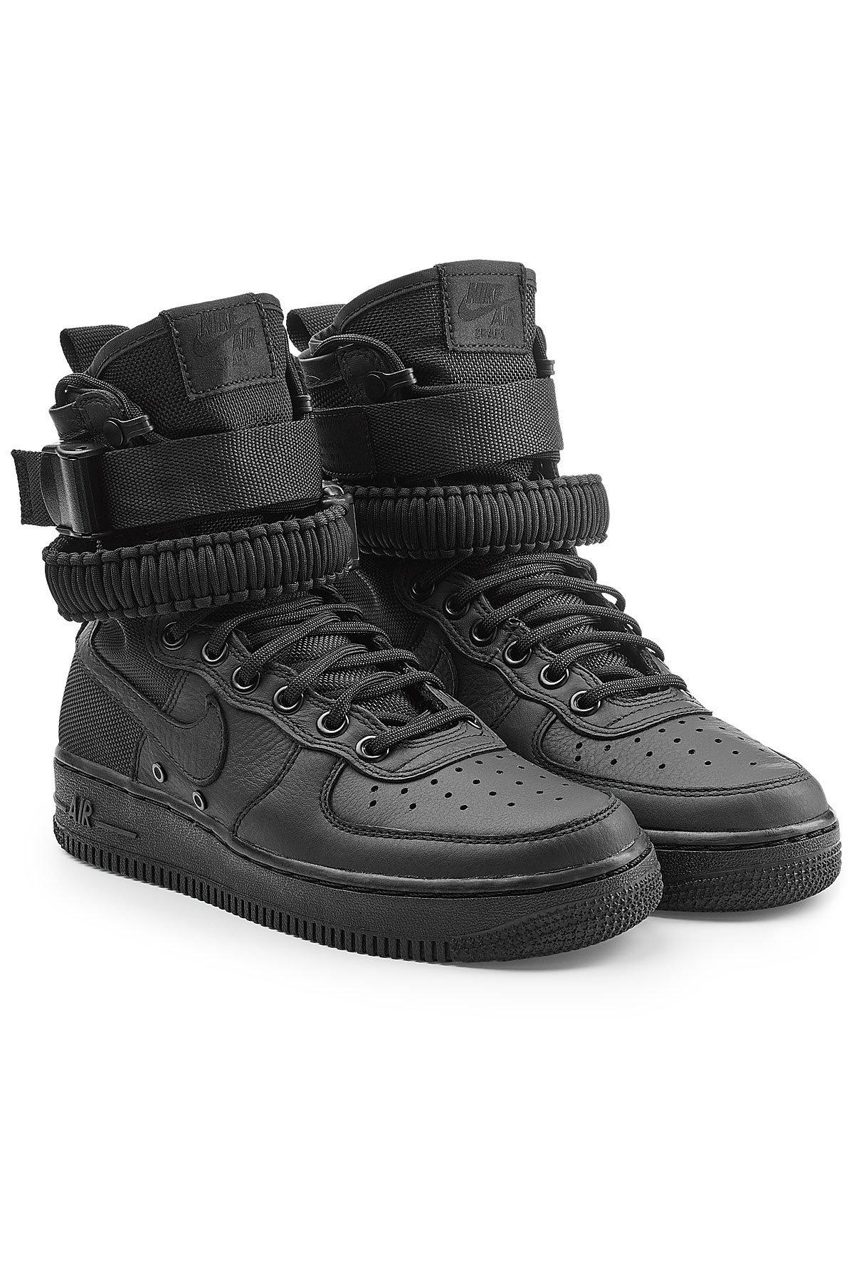 Nike Sf Air Force 1 High Top Sneakers With Leather in ...