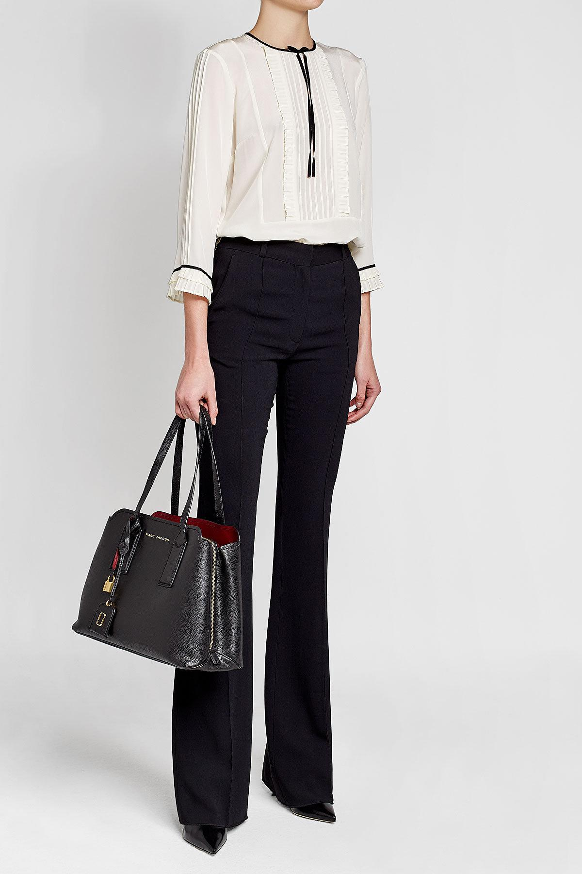 365b740d926c Lyst - Marc Jacobs The Editor Leather Tote in Black