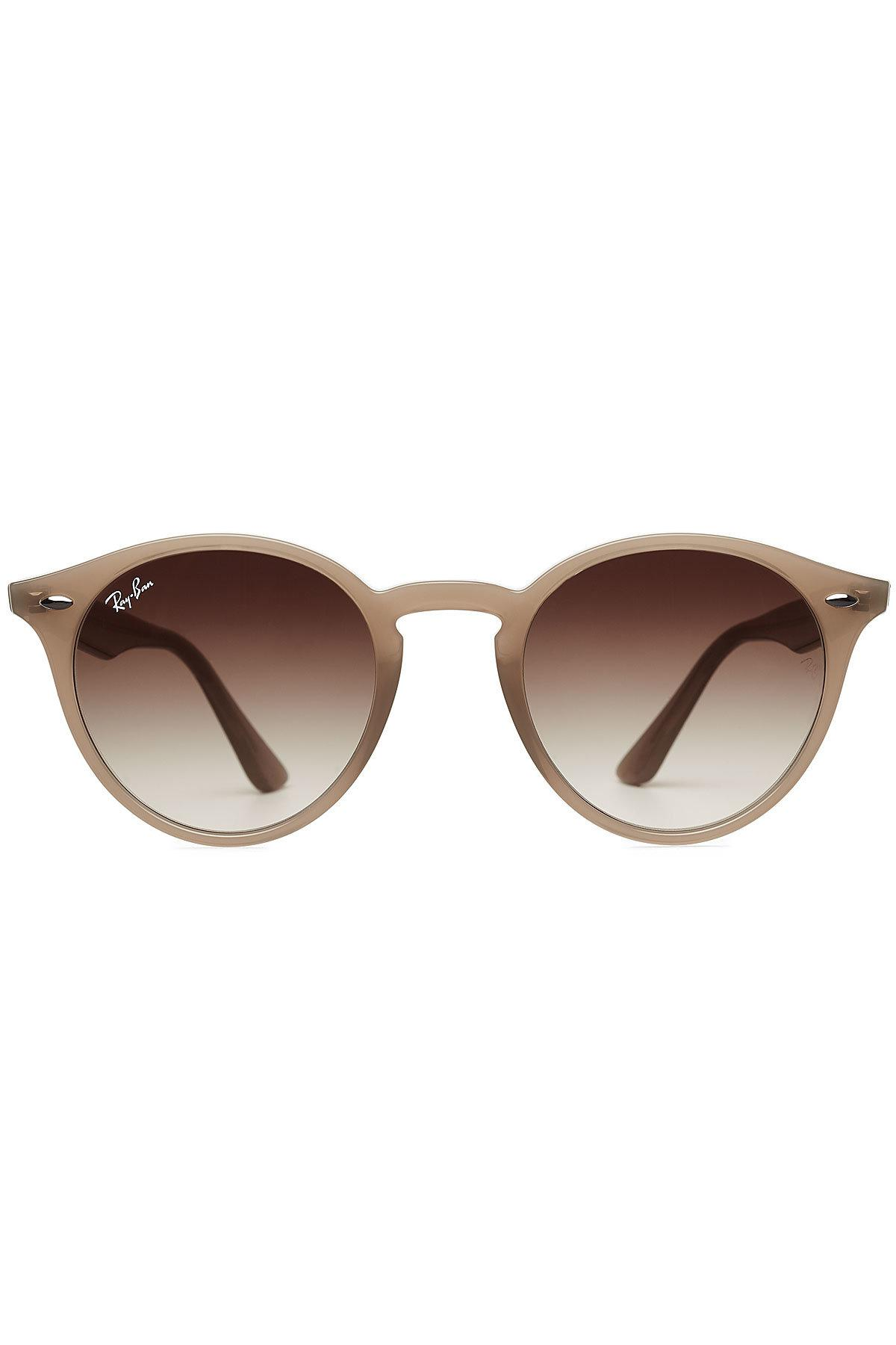 f918a7e6784 Ray-ban Rb2180 Polarised Round Sunglasses Tortoise