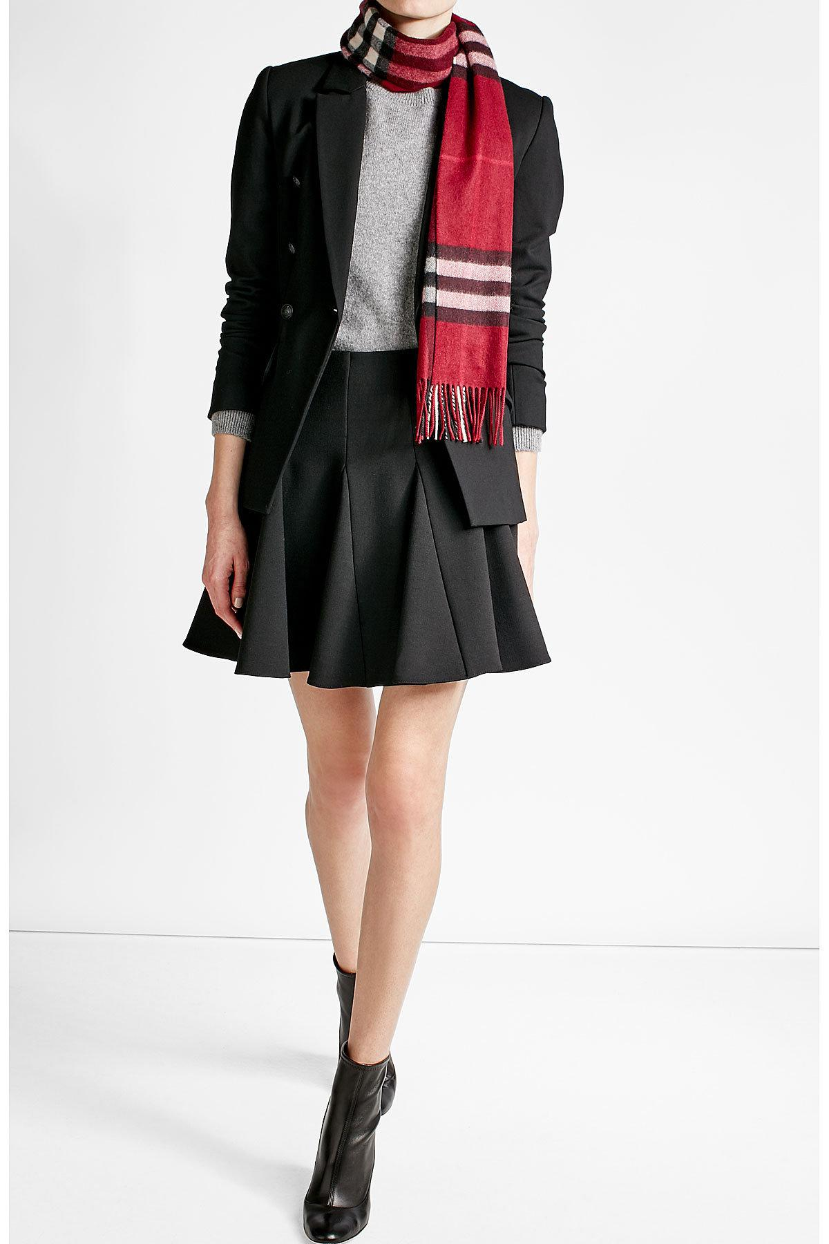 Lyst Burberry Printed Cashmere Scarf