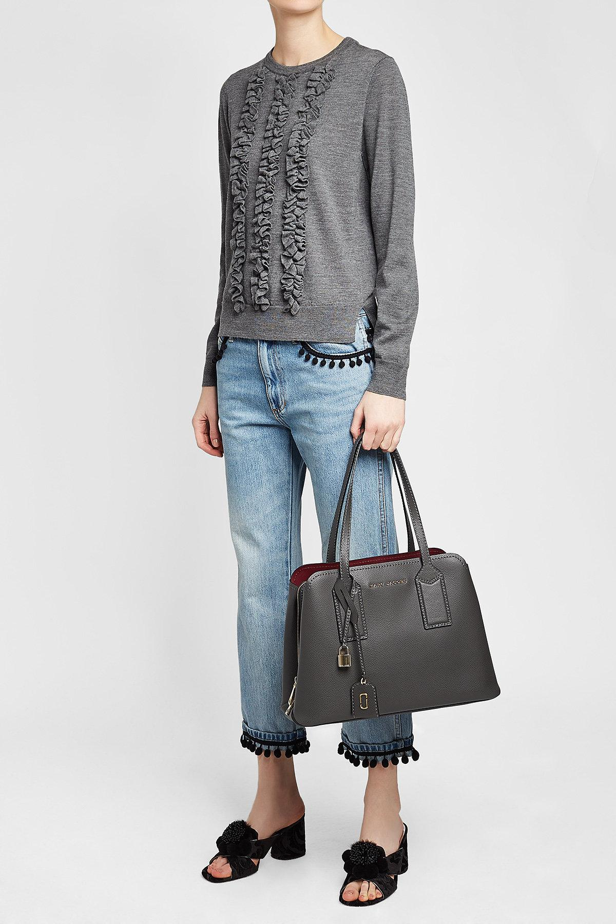 a14d1e47a46 Marc Jacobs Multicolor The Editor Leather Tote