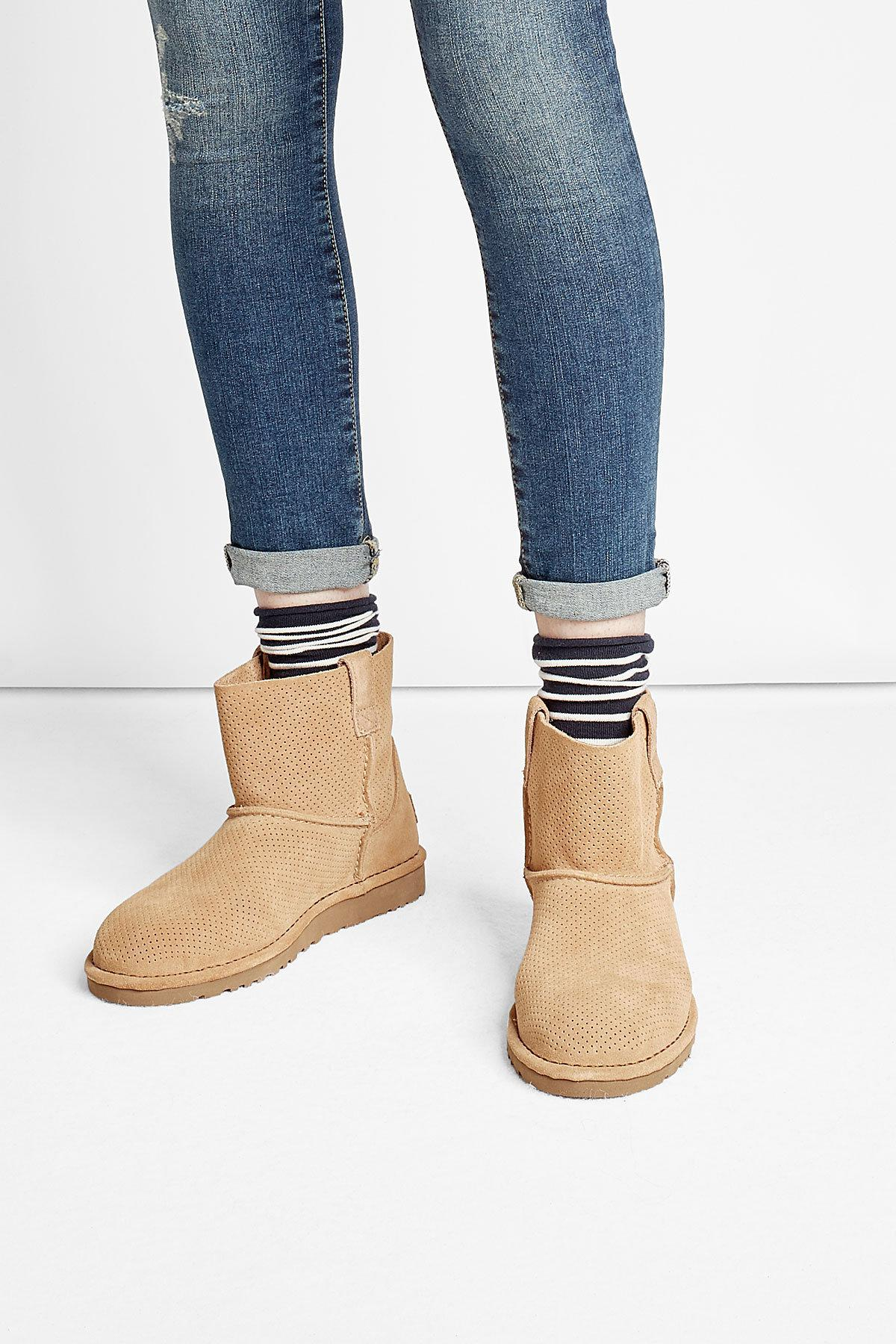 d266882c7d9 Ugg Multicolor Classic Unlined Mini Suede Ankle Boots