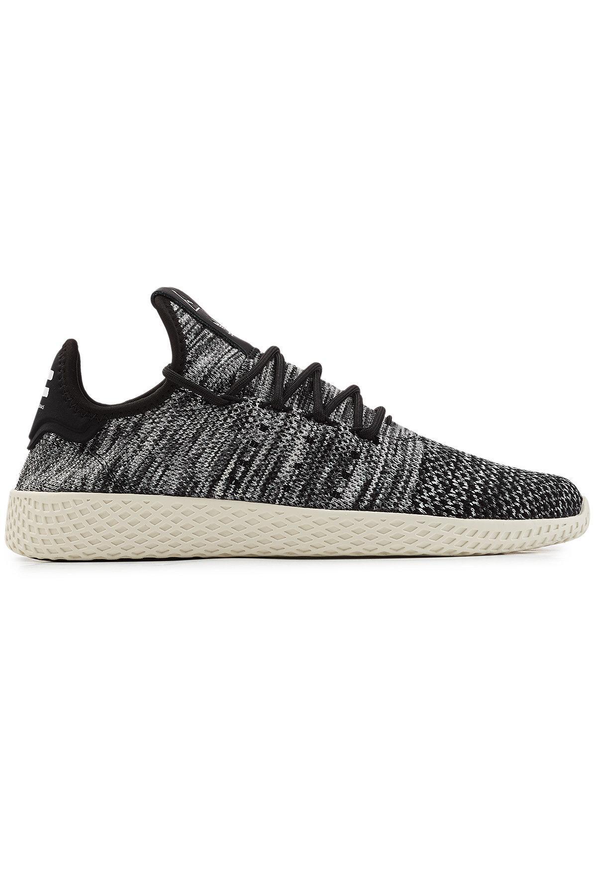 22cb724f1 Adidas Originals - Black Tennis Hu X Pharrell Williams Primeknit Sneakers -  Lyst. View fullscreen
