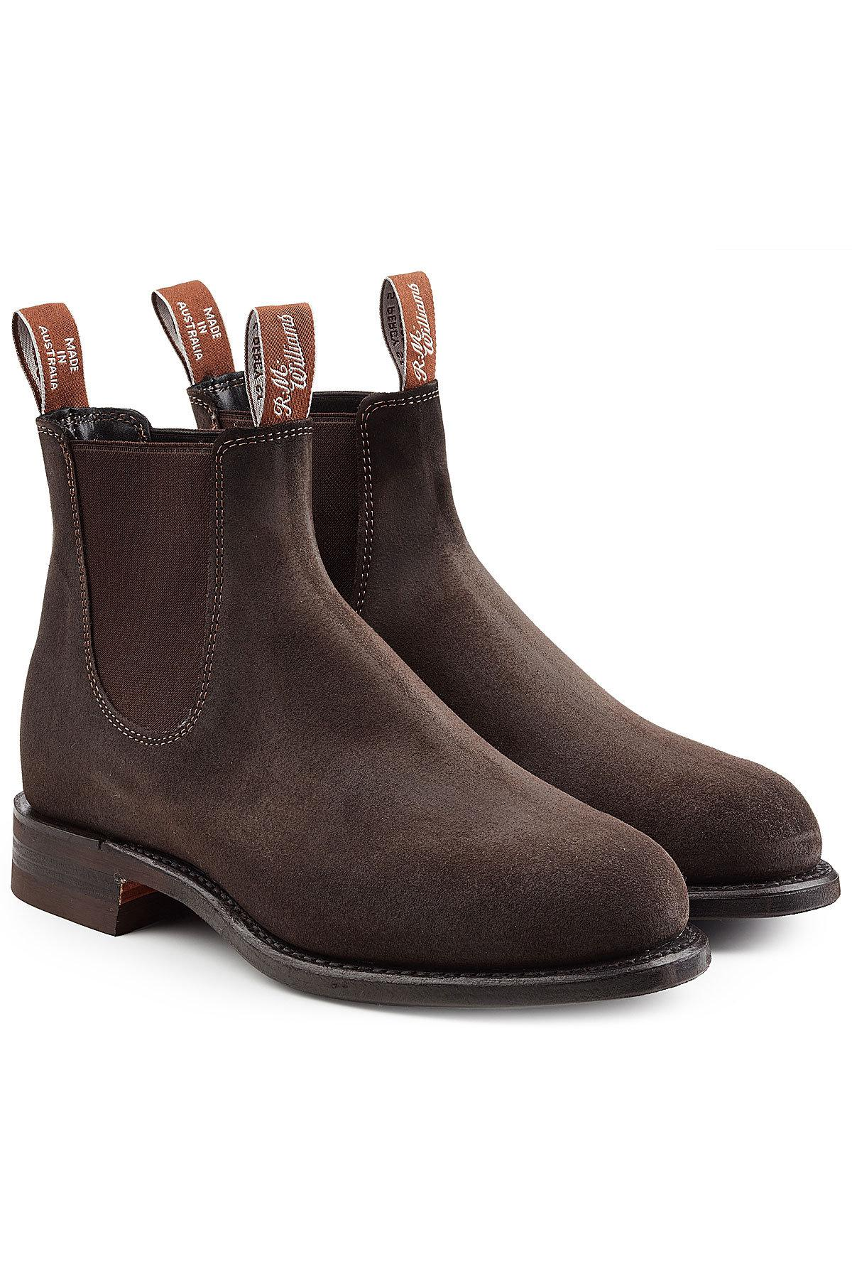R.M. Williams Comfort Turnout Leather Boots in Brown for ...