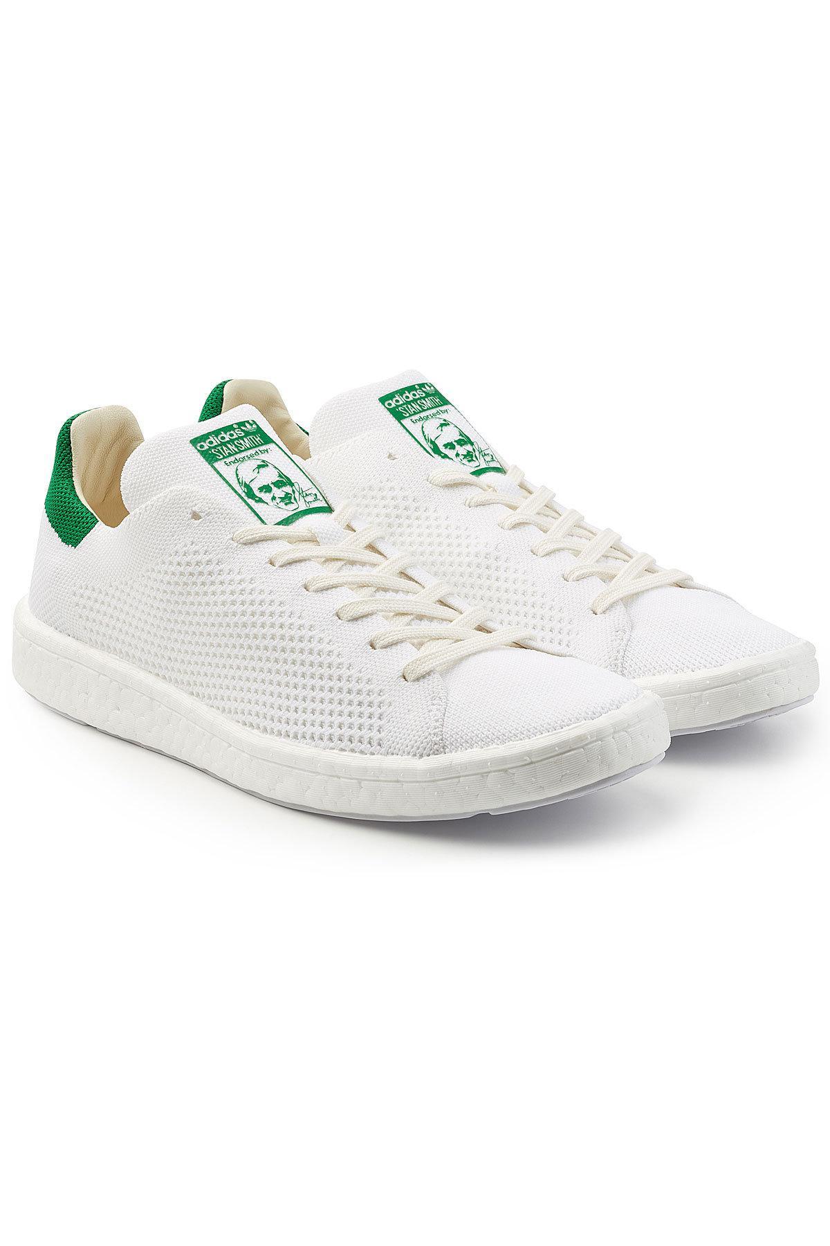 lyst adidas originali stan smith primeknit impulso scarpe per gli uomini.