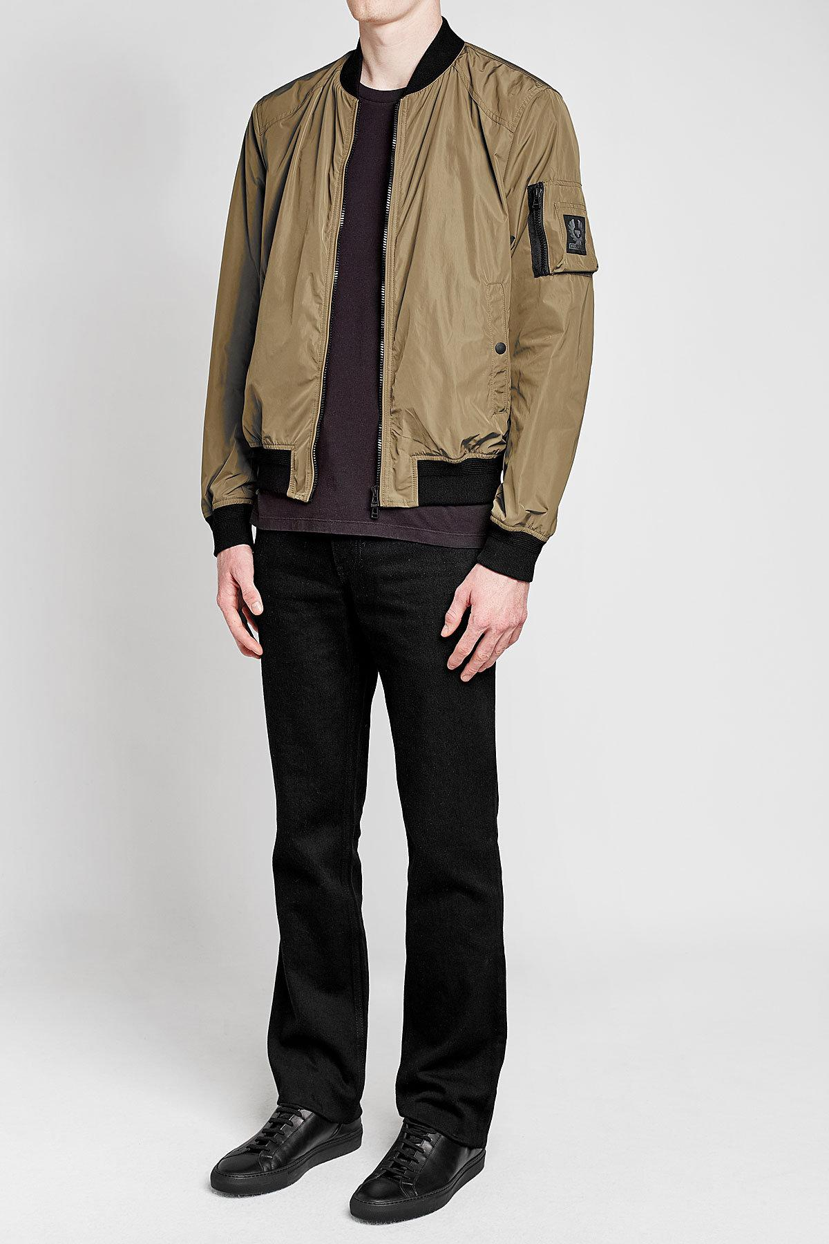 49d12e371 Belstaff Multicolor Mallison Bomber Jacket for men