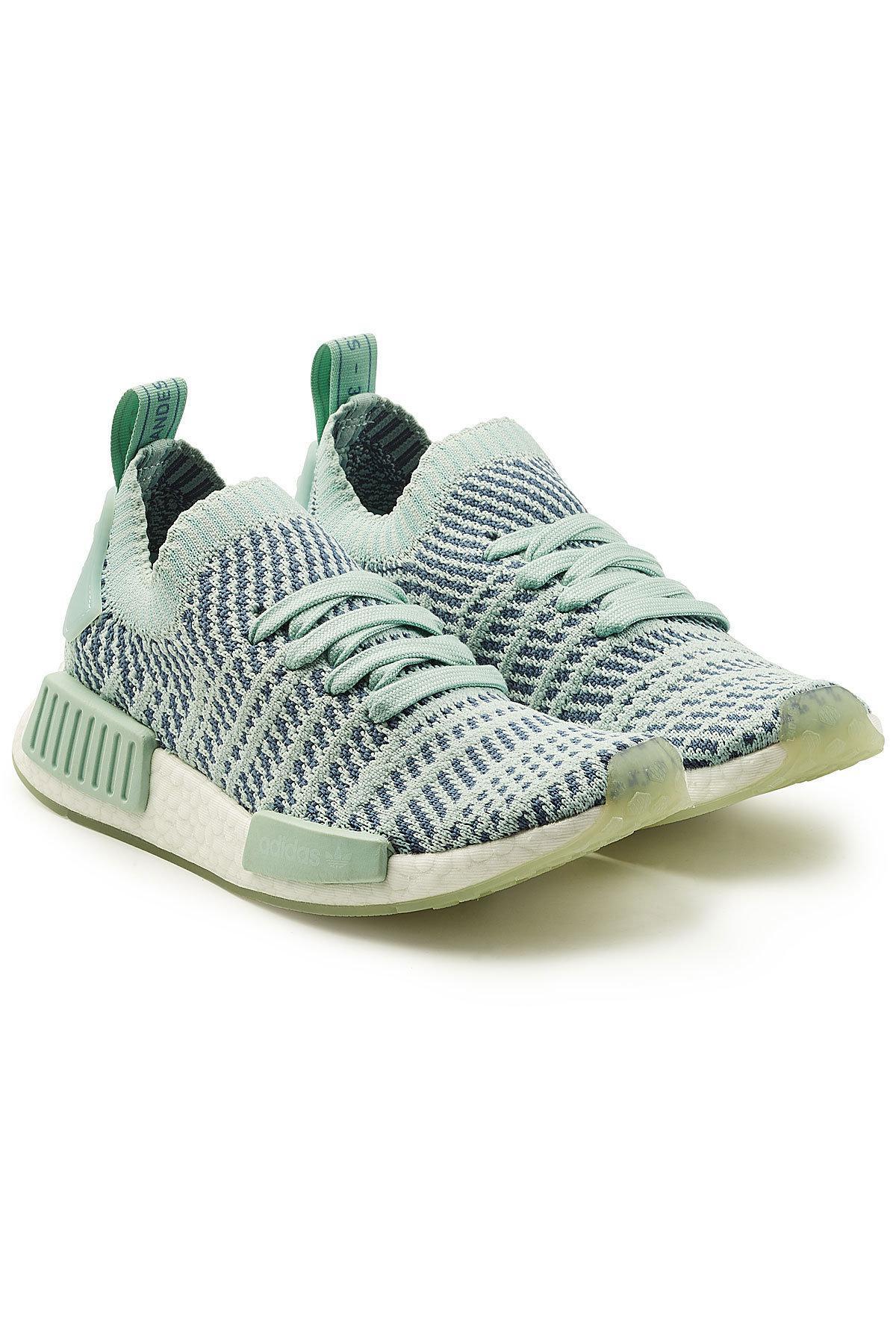 lyst adidas originali nmd r1 stlt primeknit scarpe