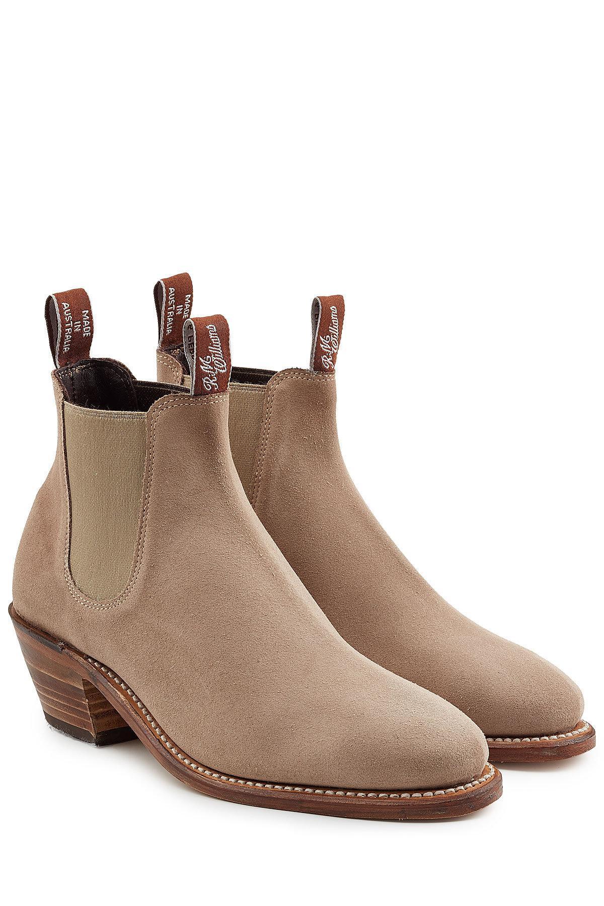 63381807d97 R.m. Williams Brown Adelaide Suede Boot Heels