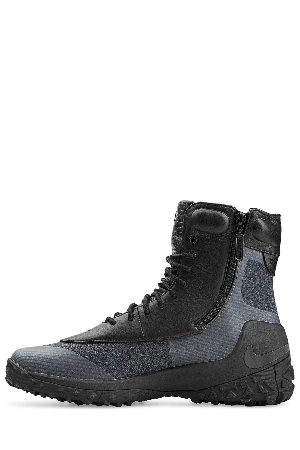 Nike Zoom Kynsi Jacquard Waterproof Boots in Black for Men ...