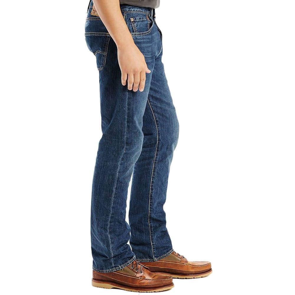 Levi's Denim 501 Jeans Original Fit State Jeans Mid Wash Blue for Men