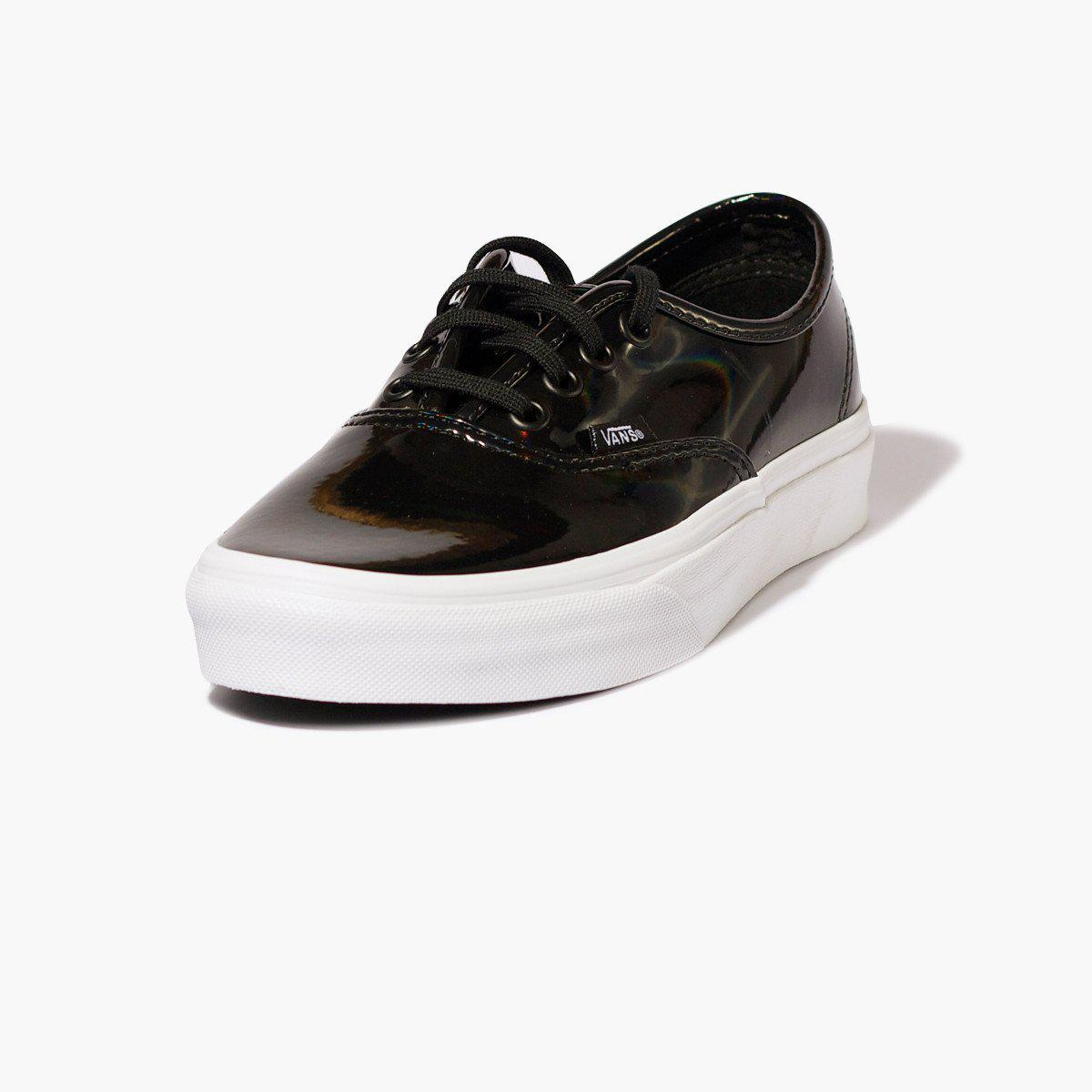 a003da37be Vans Authentic Patent Leather in Black - Lyst