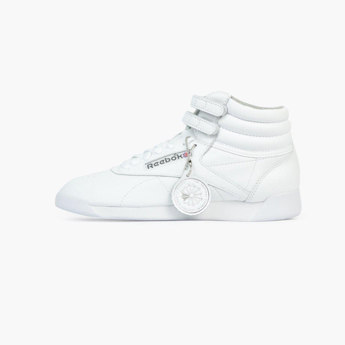 precio al por mayor gran ajuste mejor selección de 2019 Reebok Leather Freestyle Hi Archive Women's in White - Lyst