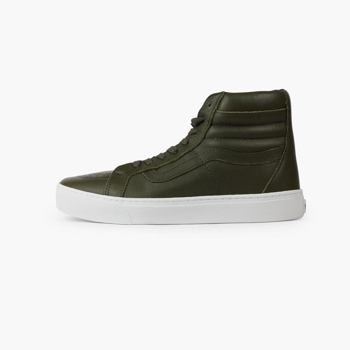 0fbc088a9d253f Lyst - Vans Sk8-hi Cup in Green for Men