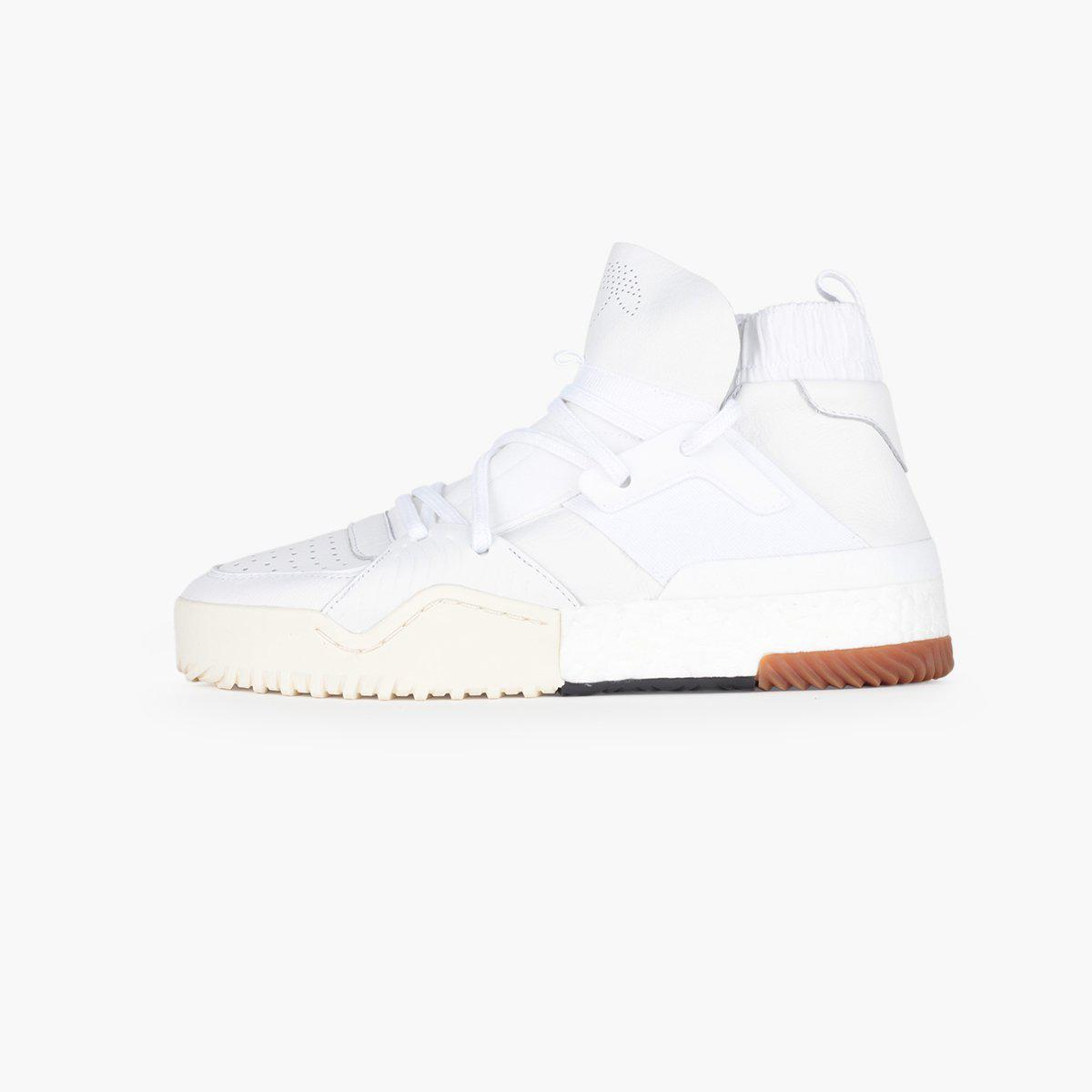 907e142c9 adidas Originals. Men s White Adidas Originals By Alexander Wang Aw Bball  Mid Boost