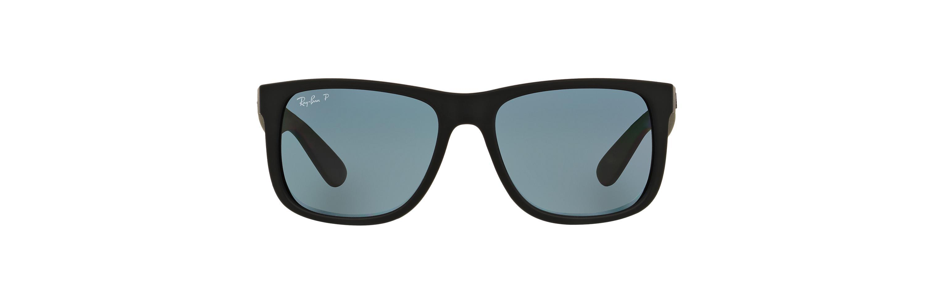 8a6e9509a9f Ray-Ban. Men s Black Rb4165 54 Justin.  163 From Sunglass Hut