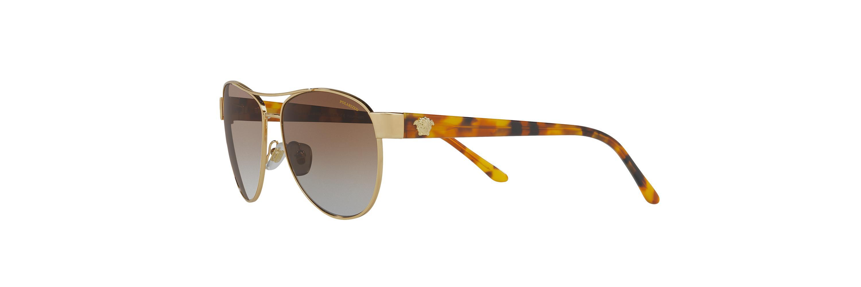 1b725a26bbd3 Lyst - Versace Ve2145 in Brown for Men