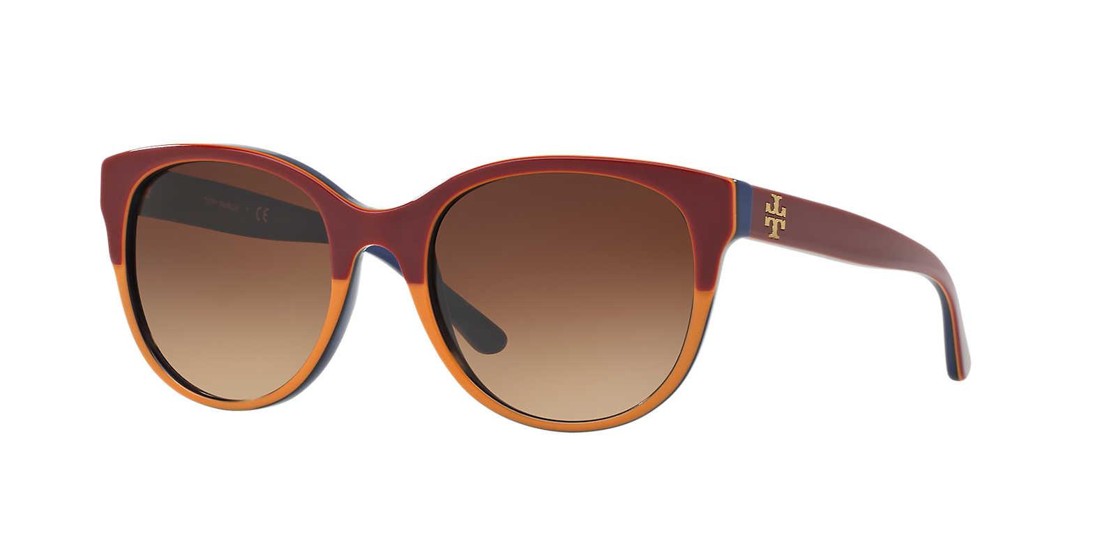 b526e2494c Tory Burch Sunglass Ty7095 54 in Brown - Lyst