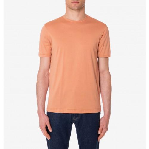 a0b458a7450 Sunspel - Multicolor Men s Classic Cotton T-shirt In Gf Terracotta for Men  - Lyst