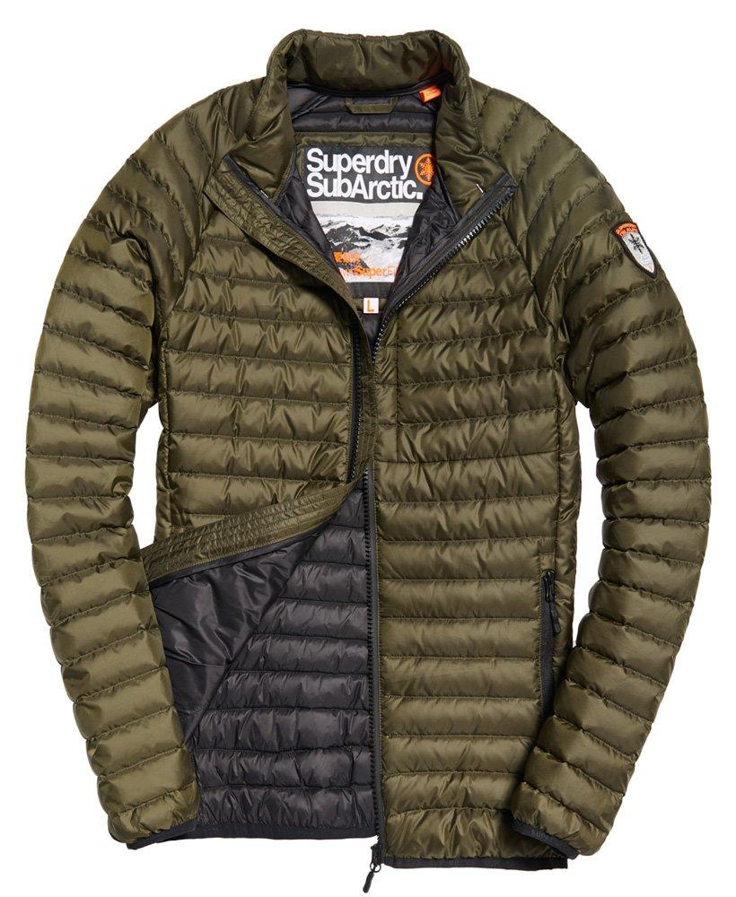 Superdry Core Down Jacket in Green for Men