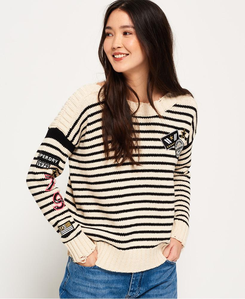 Superdry. Women's Anya Badged Jumper