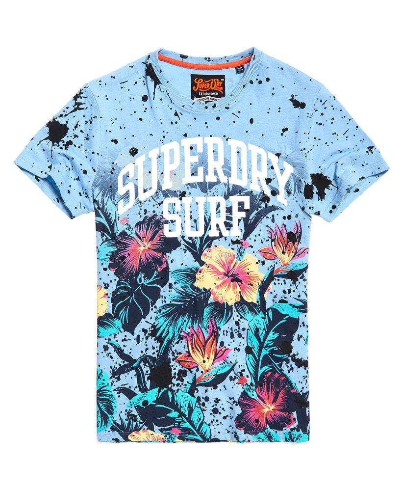 ad7768047 Superdry Echo Beach All Over Print T-shirt in Blue for Men - Lyst