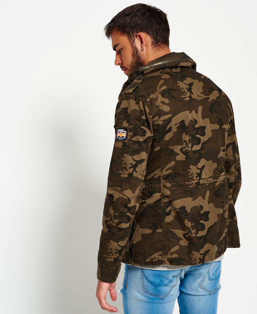 Superdry Classic Rookie Military Jacket For Men