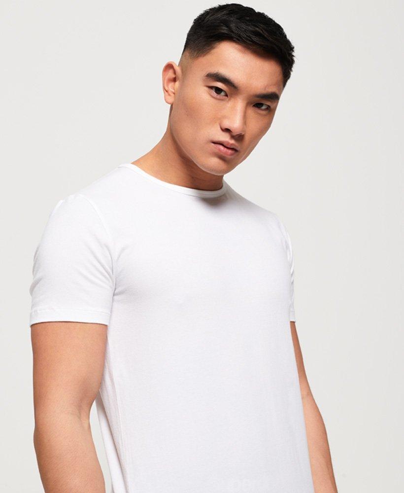 Superdry SD Linge en Coton Organique Slim T-shirt Double Pack
