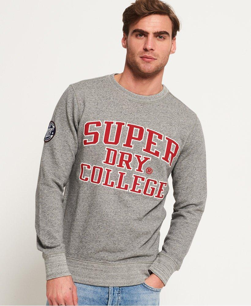 Superdry Herren Upstate Wash Crew Sweat Kapuzenpullover